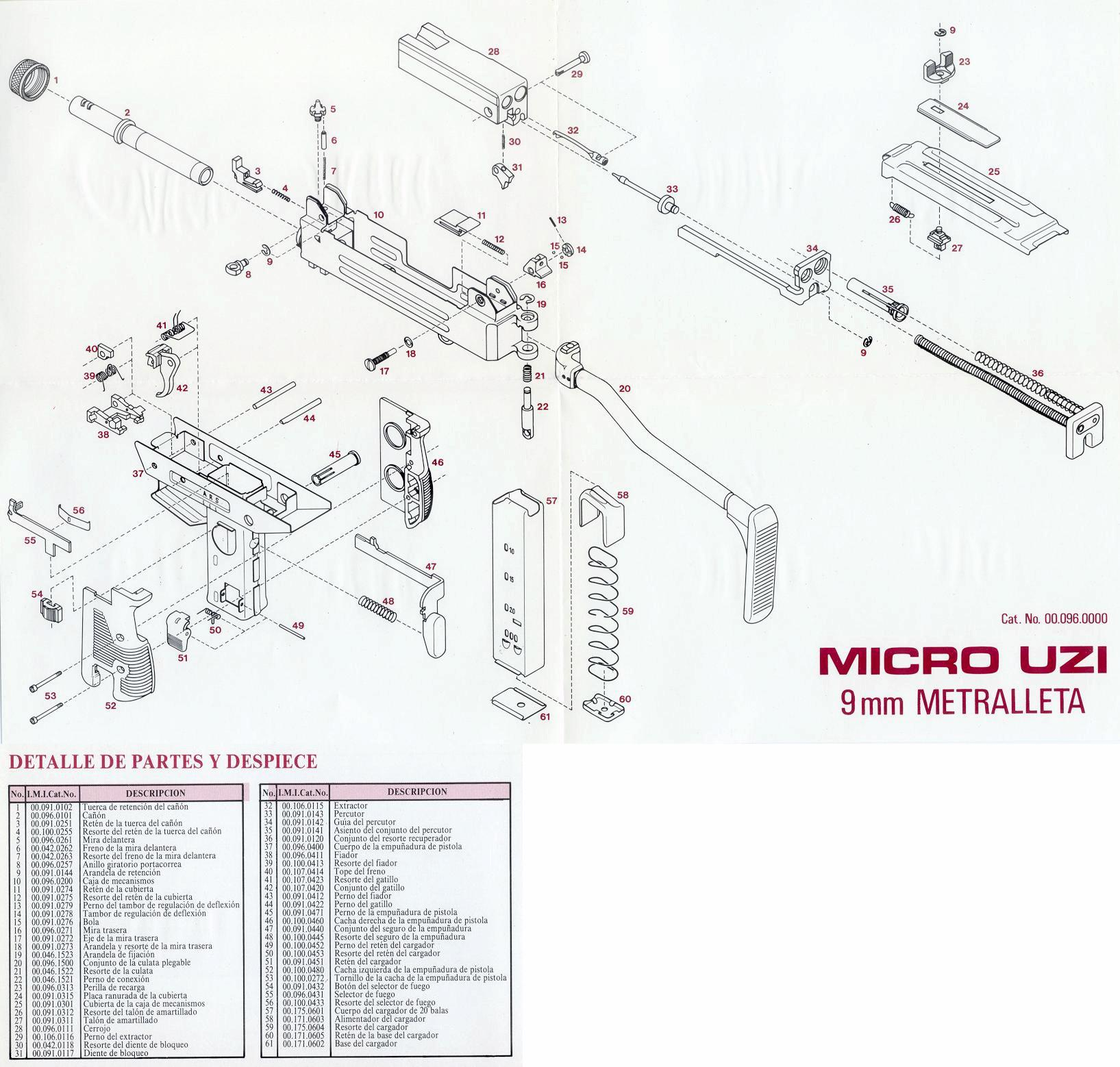 Uzi Schematic Wiring Diagram Spanish Diagrams Micro Schemauzi Talk Parts Suppressed