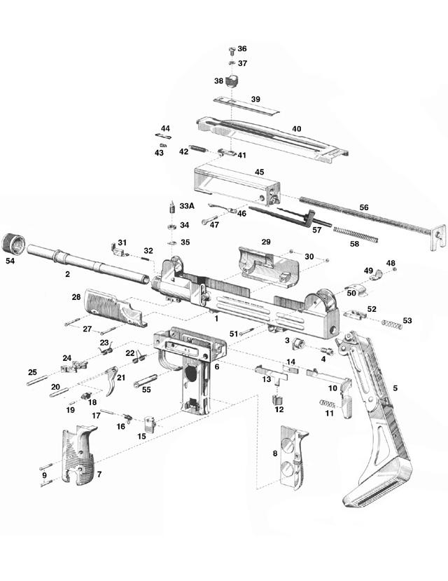 UZI Talk - Parts Diagrams